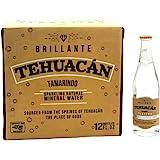 Tehuacan Brillante Agua Mineral Platino Sabor Tamarindo 0.355 L Caja Con 12 Pzas