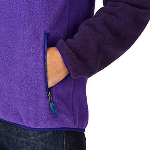 Patagonia Fleecejacke W's Full-Zip Snap-T Jacket Violetti Medium