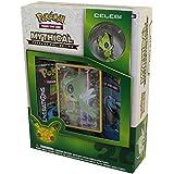 Pokemon Cards - Mythical Pokemon Collection - CELEBI (2 Packs, 1 Foil & 1 Pin)