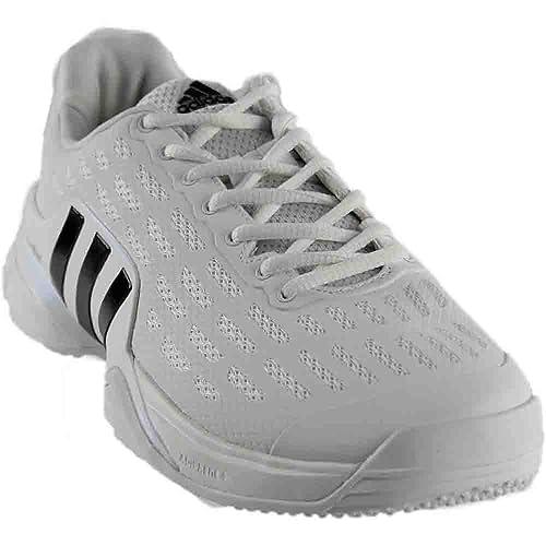 reputable site 1e712 557a6 Amazon.com   adidas Mens Barricade 2016 Grass Athletic   Sneakers White    Shoes