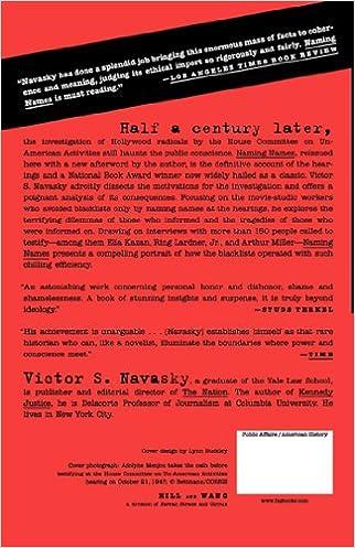 Naming Names: Victor S. Navasky: 9780809001835: Amazon.com: Books
