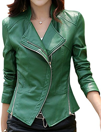 Green Motorcycle Jacket - 7