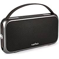 Veho VSS-014-M7 M7 Speaker | Bluetooth Speakers | Wireless Speakers | Waterproof Bluetooth Speaker IPX4 | Power Bank Feature