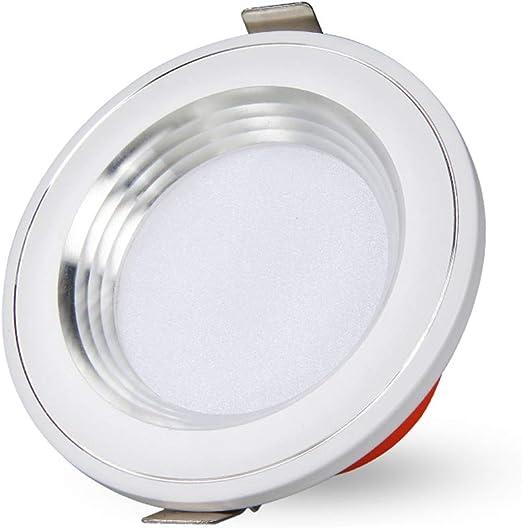 5piece Round LED Ceiling Panel Light Downlight spotlight Bulb Slim Lamp 110v