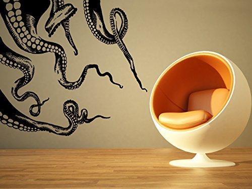 Cheap  Wall Room Decor Art Vinyl Sticker Mural Decal Octopus Tentacles Kraken Sea..