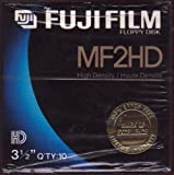 Fuji Film Floppy Disk MF2HD 3.1/2 QTY 10