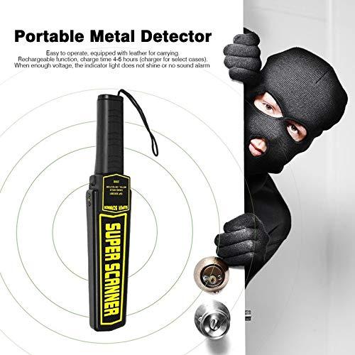 High Sensitivity Handheld Metal Detector Portable Professional Super Scanner Tool Iron Finder Security Checker: Amazon.es: Bricolaje y herramientas