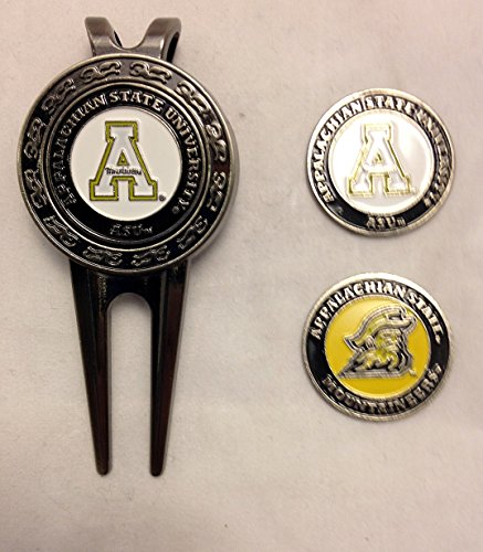 Appalachian St University Golf Divot Tool w/ Three Double Sided