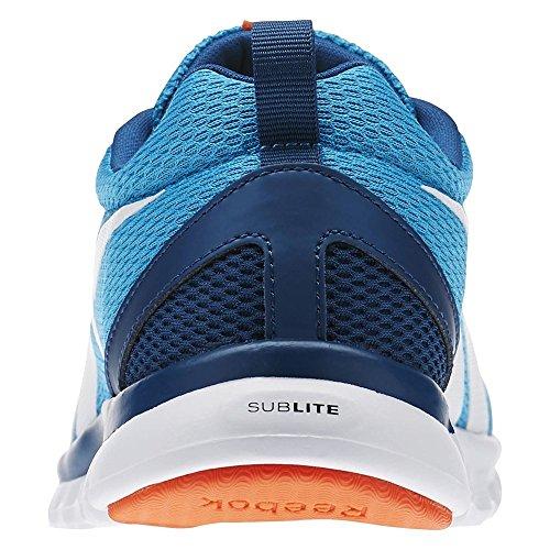 Reebok Kinder Laufschuhe Wild Blue/Noble Blue/Flux Orange/White
