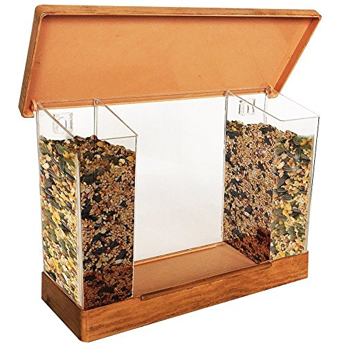 Hampton Direct Window Mounted Bird Feeder - Watch Birds Up Close By Your Window