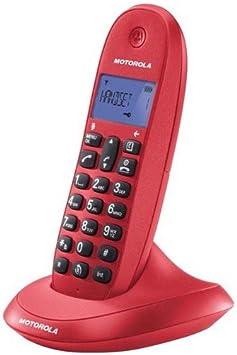 Motorola MOT31C1001LB+ - Teléfono inalámbrico: Amazon.es: Electrónica