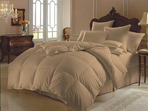 down alternative comforter taupe - 5