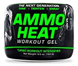 Cheap AMMOHEAT Advanced Topical Sweat Workout Enhancer with Capsaicin, 6.5 oz – The Next Generation Turbo Workout Intensifier – Tone, Tighten and Sweat