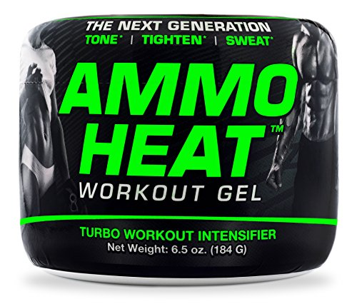 AmmoHeat 6.5 oz. | The Next Generation | Topical Sweat and Weight Loss Intensifier - Tone, Tighten, and Sweat | Made with ShapePerfection and Collagen