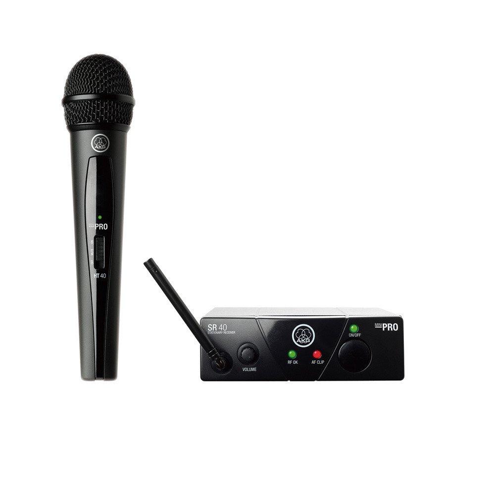 AKG 1チャンネルB帯ワイヤレスシステム WMS40 PRO MINI VOCAL SET(JP1) 【国内正規品】   B011B2JUY2