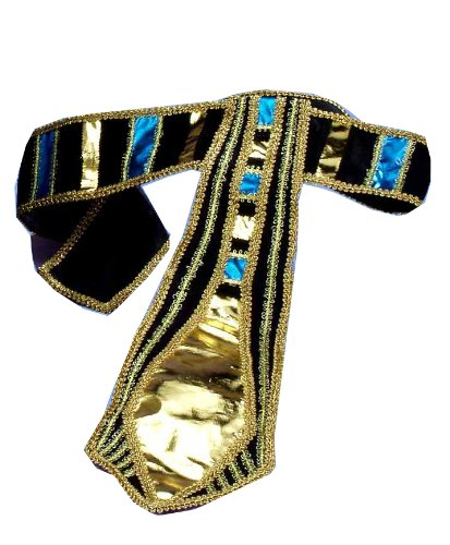 [Forum Novelties Incredible Character Egyptian Costume Belt] (Pharaoh Headdress)
