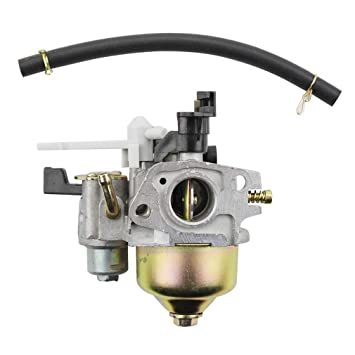 GOOFIT Carburador 19 Dellorto, PZ19 Minimoto de Filtro para GX120 GX160 GX168 GX200 5.5HP 6.5HP Generador Motor Pit Bike Scooter ATV Quad Plata: Amazon.es: ...