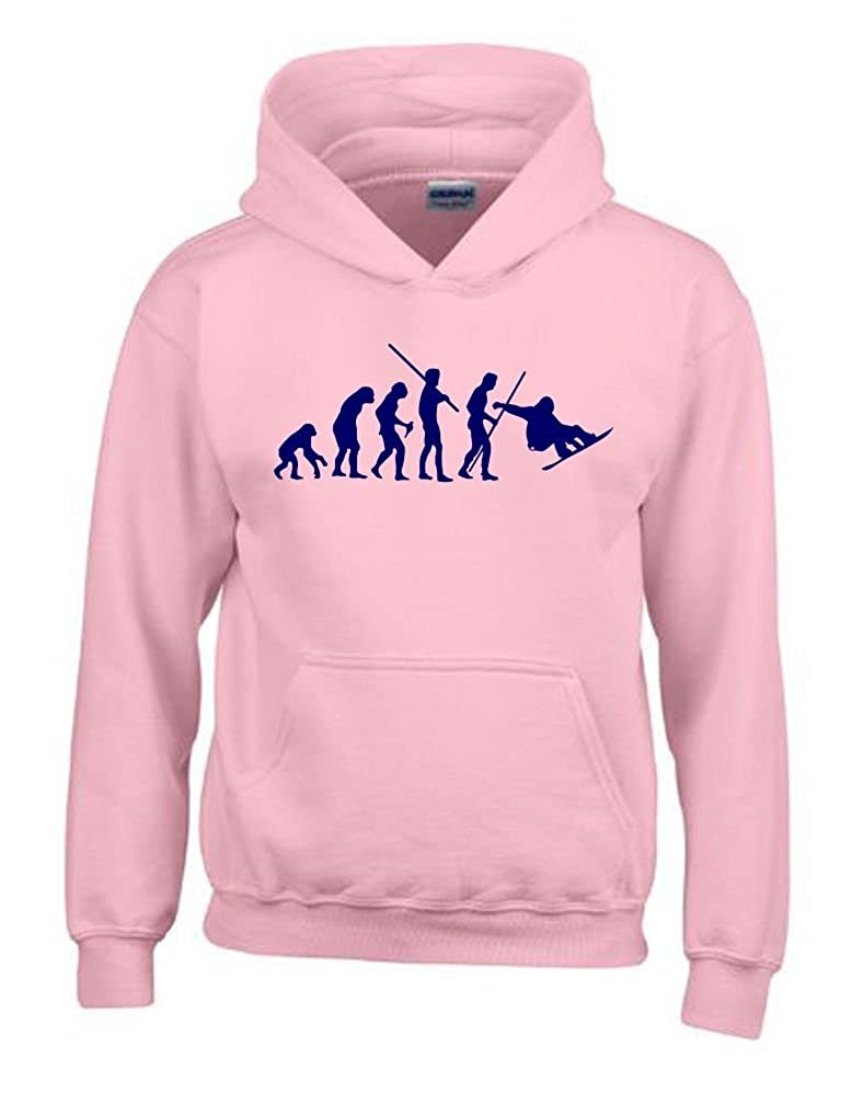 Coole-Fun-T-Shirts Snowboard Sweat-Shirt à Capuche Kids Evolution pour  Enfant Taille 128-164 cm  Amazon.fr  Vêtements et accessoires 5fb0540893ee