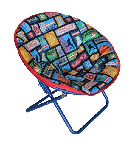 Heritage Kids WK656323 Kids Sports Saucer Chair (Kids Butterfly Chairs)