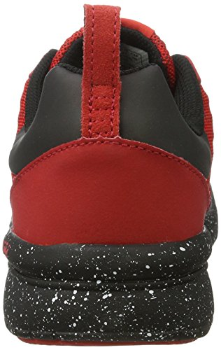 Supra Mens Scissor Red/Black Speckle Athletic Shoe vFEvtTvyh