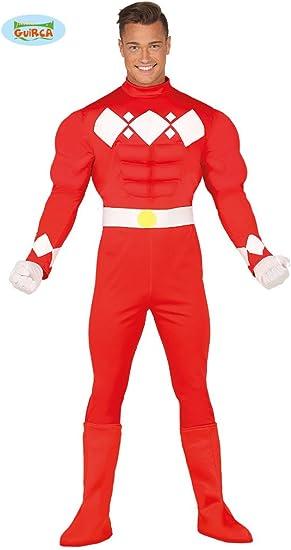 Disfraz de Superhéroe Japonés Musculoso para hombre: Amazon.es ...