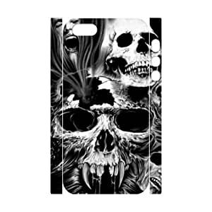 XDCC Apple Iphone 5/5s 3D Covers Cases, Customized Diy Hard Case Skull