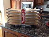 Otis Spunkmeyer Rack with 9 Excellent Condition Baking Sheets!