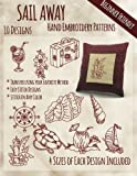 img - for Sail Away Hand Embroidery Patterns book / textbook / text book