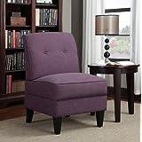 Amazoncom Purple Chairs  Living Room Furniture Home  Kitchen - Purple accent chairs living room