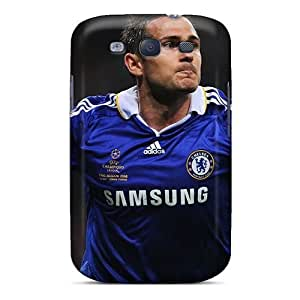 Quality Evanhappy42 Cases Covers With Soccer Chelsea Fc Frank Lampard Nice Appearance Compatible With Galaxy S3