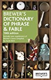 img - for Brewer's Dictionary of Phrase and Fable 19th Edition book / textbook / text book
