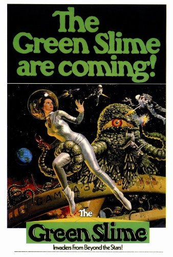 Green Slime Movie Poster   - by MG Poster