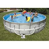"Intex Ultra Frame 18' x 48"" Swimming Pool - Round"