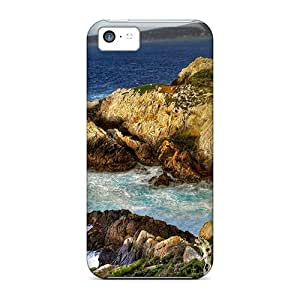 New Arrival APYAW6925pAchA Premium Iphone 5c Case(coasts)