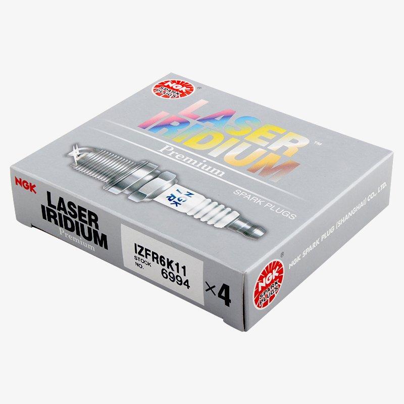 NGK 6994 IZFR6K11 - Bujía de iridio Láser (4 Unidades): Amazon.es: Coche y moto