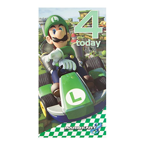 Price comparison product image Mario Kart 4 Today Birthday Card
