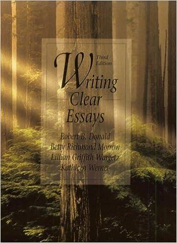 Writing clear essays 3rd edition berlin wall essay topics