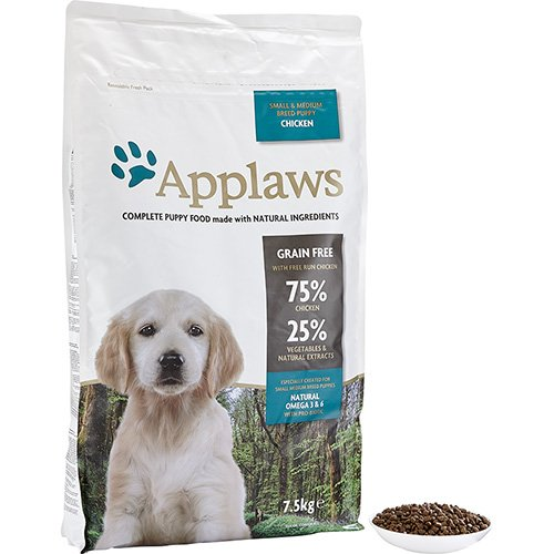 Applaws Natural Complete Dog Dry 7 5kg Small Medium Breed Puppy