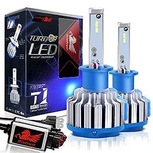 WinPower H1 LED Headlight Bulbs CREE Chip Conversion Kits 7200LM 6000K White, 2 Year Warranty