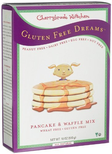 Cherrybrook Free Gluten Kitchen (Cherrybrook Kitchen - Pancake & Waffle Mix, Gluten Free, Wheat Free, 18 oz (Pack of 5) by Cherrybrook Kitchen)
