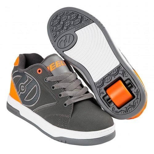HEELYS PROPEL 2.0 Schuh 2018 charcoal/orange/grey Grau