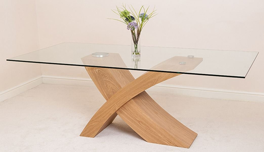 MODERN FURNITURE DIRECT Valencia Grande Roble 200 cm Mesa de ...