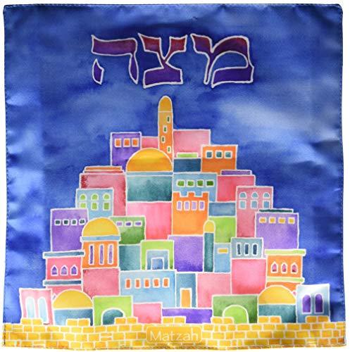 - Rite Lite Jerusalem Square Matzah Cover, 3 Piece
