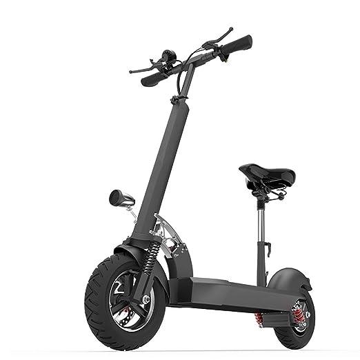 P&LK Scooter eléctrico Ligero Plegable de 500W con Velocidad ...