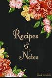 Best Blank Recipe Books - Blank Cookbook Recipes & Notes: Recipe Journal, Recipe Review