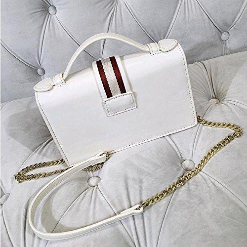 Femelle Locker Messenger Contrastée Sacs Portable Mode Sac Bag Stripe SHTBO Simple épaule Couleur 5qxwTXnU