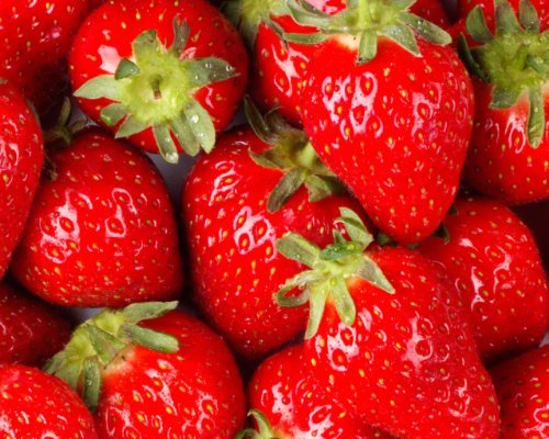STRAWBERRIES GROWN FRESH PRODUCE FRUIT VEGETABLES PER POU...