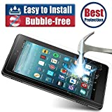 All-New HD 8 Screen Protector, BENOKER Tempered Glass Screen Protector for All-New HD 8 Tablet (7th/6th 2017/2016 Release) - 9H, HD, Bubble Free, Anti-Scratch (High Definition) (HD 8)