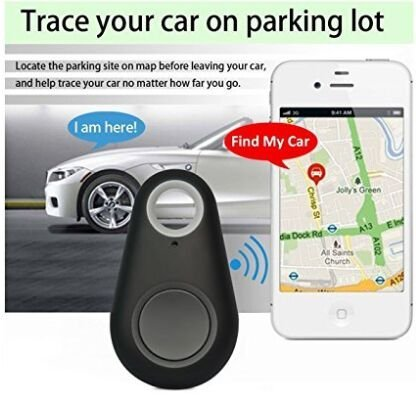flyfishing RR 1 20 5 Spy GPS Tracker Smart Finder Bluetooth Locator Wireless Anti Lost Alarm Sensor For Key Wallet Car Kids Pets Dog Cat Child Bag Phone Located Selfie Shutter pack of 2