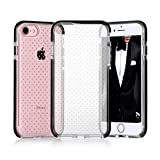 iPhone 7 Case, iPhone 7 Cover, FYY [Patent Shockproof] Ultra Slim Fit Hybrid Clear Bumper Case Soft Silicone Gel Rubber Shockproof Impact Resistance Cover for Apple iPhone 7 Black